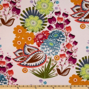 Anna Maria Horner LouLouThi Summer Totem Grapefruit Fabric