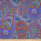 Kaffe Fassett Spring 2013 Collection Belle Epoch Blue Fabric