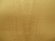 180cm Wide Butterscotch Bengaline Moire Yardage