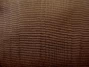 180cm Wide Chocolate Bengaline Moire Yardage
