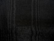 180cm Black Bengaline Moire Yardage