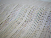 Cotton Crepe Fabric Board Tightened Splashed Pattern Made in Japan colour : Beige