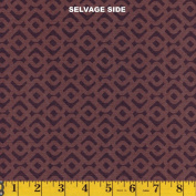 Camelot Fabrics Chocolate Chain Link, From the Hand Picked Collection, 110cm Wide, By the Yard
