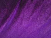 Stretch Velvet Purple 150cm By the Yard