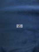 SOLID MINKY FABRIC - Navy Blue - 150cm /150cm WIDTH SMOOTH MINKY SOLD BY THE YARD