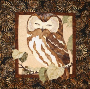 Whoo's The Cutest Owl Toni Whitney Designs Applique Quilt Pattern