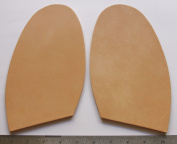 "Leather Replacement Half Soles 5.5 mm Thick Extra Wide Rigit & Dense Approx 5 x 8"" XXL"