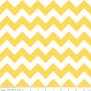 Chevron Stripe Yellow Flannel Fabric SKU F320-50