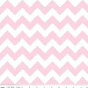 Chevron Stripe Baby Pink Flannel Fabric SKU F320-72
