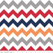 Chevron Stripe Boy Flannel Fabric SKU F320-02