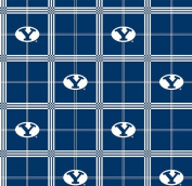 BYU Brigham Young University Flannel Fabric SKU BYU-023
