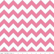 Chevron Stripe Pink Flannel Fabric SKU F320-70