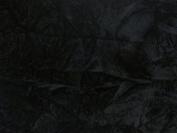 Crushed Upholstery Velvet Black 150cm By the Yard