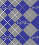 KANSAS STATE WILDCATS Fleece Fabric-KANSAS STATE WILDCATS Fleece Fabric Sold By the Yard