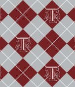 Texas A & m Aggies Fleece Fabric-texas A & m Tam Fleece Fabric Sold By the Yard