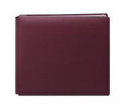 Pioneer 30cm by 30cm Family Treasures Deluxe Fabric Postbound Memorybook, Rich Bordeaux