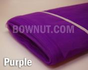 Purple - 140cm x 40Y Tulle Bolt Wedding Decoration Bridal