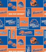 Boise State University By Sykel - 100% Polyester Fleece 150cm Wide By the Yard