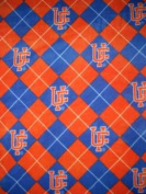 University of Florida By Sykel - 100% Polyester Fleece 150cm Wide By the Yard
