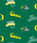 University of Oregon - 100% Fleece 150cm Wide By the Yard