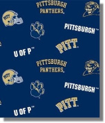 University of Pittsburgh By Sykel - Allover - 100% Polyester Fleece 150cm Wide By the Yard