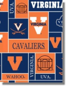 University of Virginia By Sykel - 100% Polyester Fleece 150cm Wide By the Yard