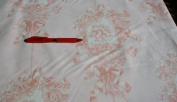 P Kaufmann Pink Cherub Cotton Toile Duck Fabric Material