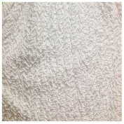 2.4cm Wide Puff Puff (White) by the Yard
