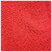 2.4cm Wide Puff Puff (Red) by the Yard