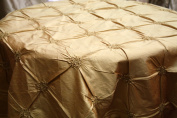 Button Style 100% Silk Fabric - Champagne- Only $14.99/yrd Sold Bty