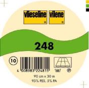 Vilene Sew-in Volume Fleece 248 white-coloured; width 35.10 inch/90cm, price per metre