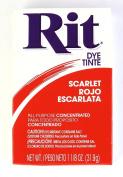 Rit Dye Powder Dye, 30ml, Scarlet Red, 3-Pack