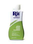 Rit Dyes apple green liquid 240ml bottle [PACK OF 4 ]