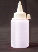 WHITE UV Reactive Fabric Material Paint 4oz