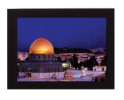 The Dome of the Rock, Jerusalem. Overall frame size 20cm x 15cm . Ideal for most gifting occassions.