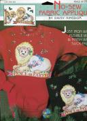 Daisy Kingdom No-Sew Fabric Applique ~ Peace on Earth Lion with Lamb