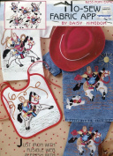 Daisy Kingdom No-Sew Fabric Applique ~ Pony Express