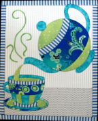 Artsi2 A2TEAST1 Tea Set Wall Hanging Kit Multi-Coloured