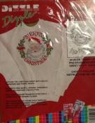 Merry Christmas Santa - Preshaded Iron-On Transfers - 36cm x 43cm Sheet (Dizzle Art) #50017