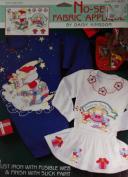 Daisy Kingdom No-Sew Fabric Applique Santa's Quilt