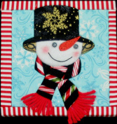 Artsi2 A2SNOWSPE Snowman Spencer Wall Hanging Kit