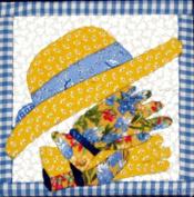 Artsi2 A2GARDGLHA Gardening Gloves and Hat Wall Hanging Kit