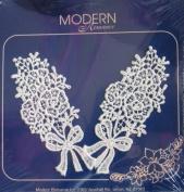 Spring Bouquets Venice Lace Appliques Decorative Trim - Modern Romance