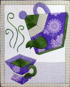 Artsi2 A2TEAST5 Tea Set Wall Hanging Kit