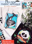 Daisy Kingdom No-Sew Fabric Applique ~ Whales & Panda