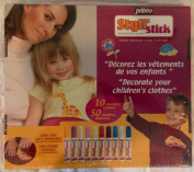 Styli Stick Transfer Repositionable Paint for Clothes 10 Colours