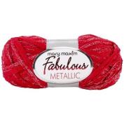Fabulous Metallic Yarn-Red