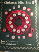 Christmas Mini Bits II ~ Cross Stitch Patterns ~ Faye Raye Stitcheries Leaflet No. 5