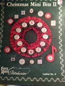 Christmas Mini Bits II ~ Cross Stitch Patterns ~ Faye Raye Stitcheries Leaflet No. 5