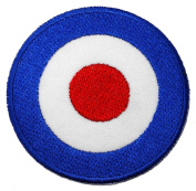 Vespa Mod Target Motorcycles Biker Scooter Embroidered iron-on/sew-on patch
